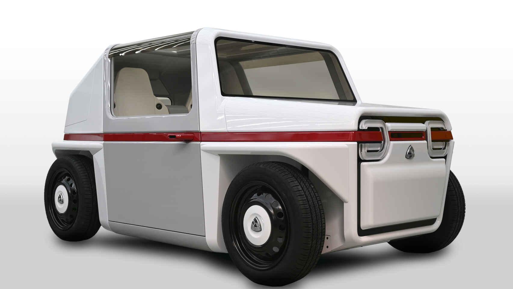 En ville, cette mini-voiture à hydrogène va devenir votre meilleure amie
