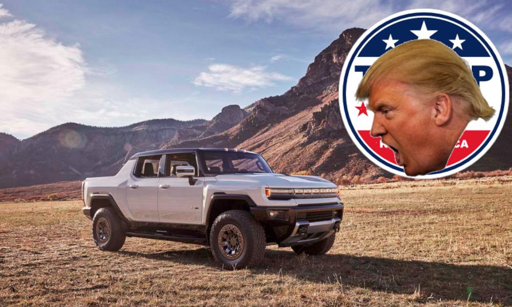Ce Hummer électrique fait un carton chez les électeurs de Donald Trump