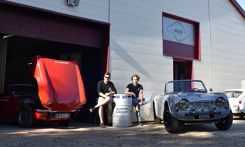 Au Mans, ces deux passionnés restaurent les voitures anglaises les plus cultes