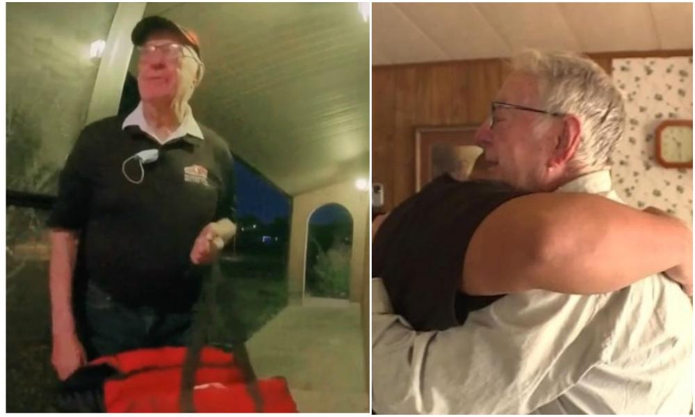 Il livre des pizzas à 89 ans, une famille lui donne 10 000 euros pour l'aider