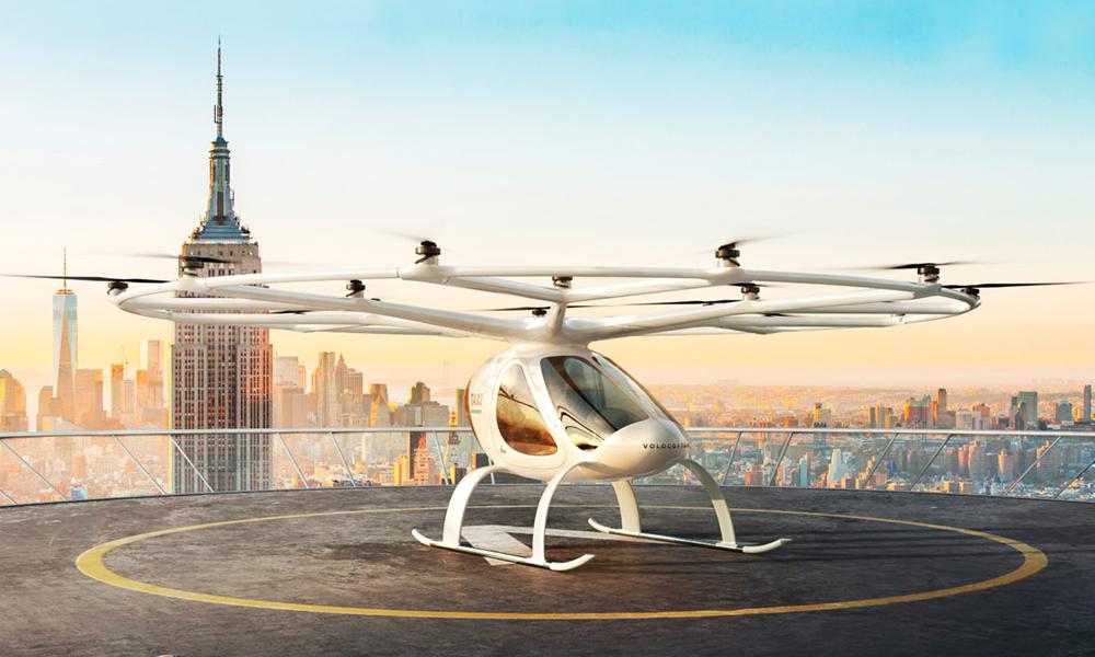 Les premiers essais de taxis volants débuteront en région parisienne dès 2021