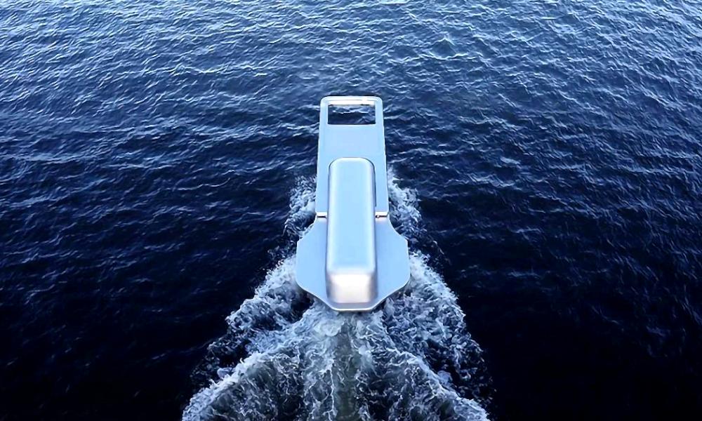 Ce bateau en forme de braguette est prêt à dézipper tous les océans