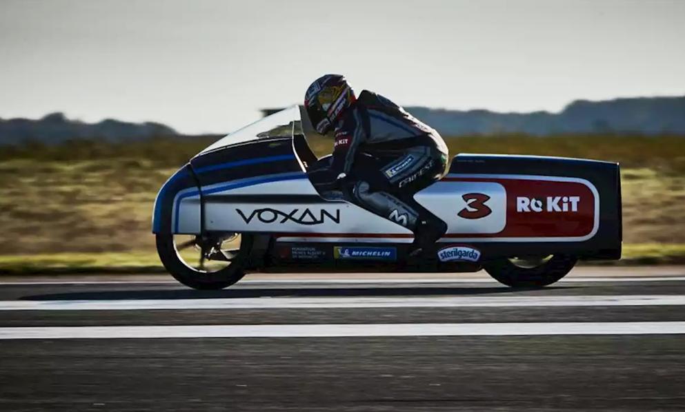 400 km/h : voici la moto électrique la plus rapide du monde