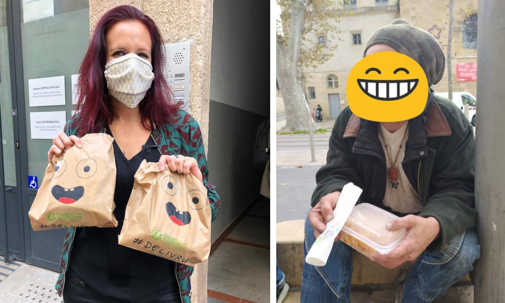 À Montpellier, Déliv'rue livre gratuitement des repas aux sans-abri