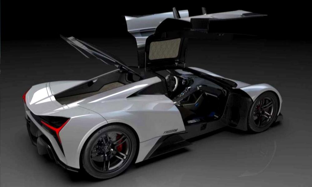 Elation Freedom : une super voiture électrique capable de rouler à 400 km/h