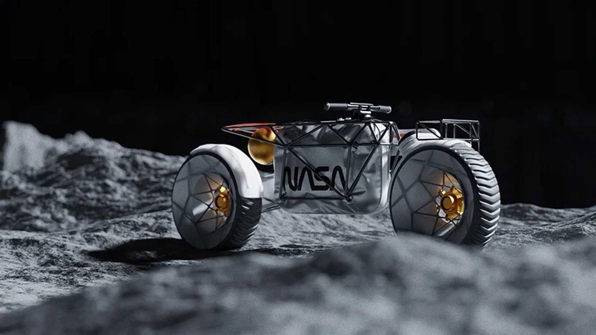 Voici la première moto électrique conçue pour rouler sur la Lune