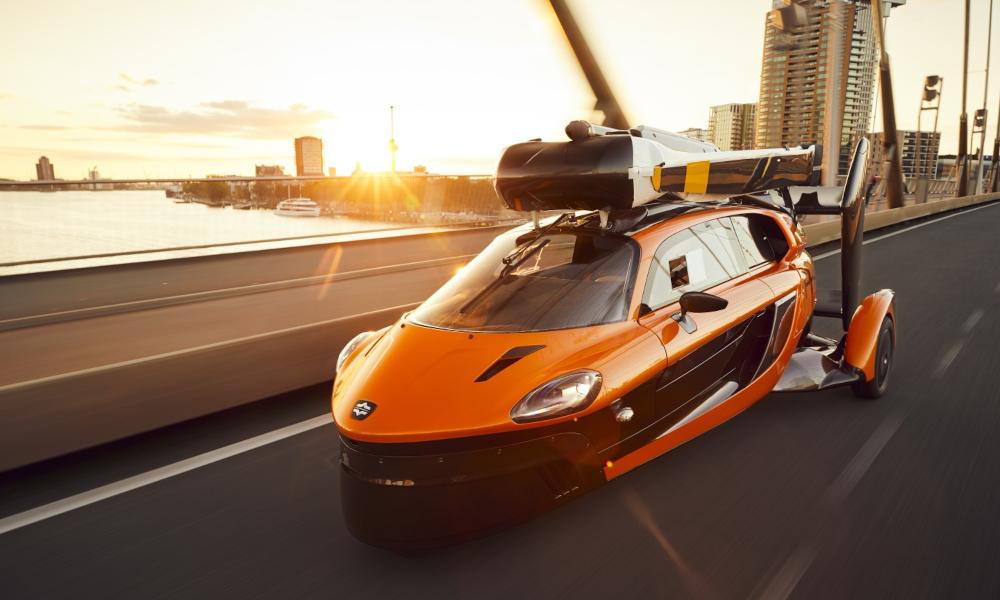 Cette voiture volante a reçu le feu vert de l'Europe pour… rouler
