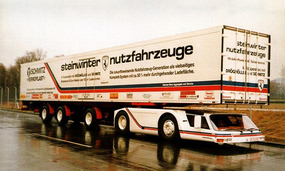 Ce camion plat aurait pu révolutionner le transport de marchandises