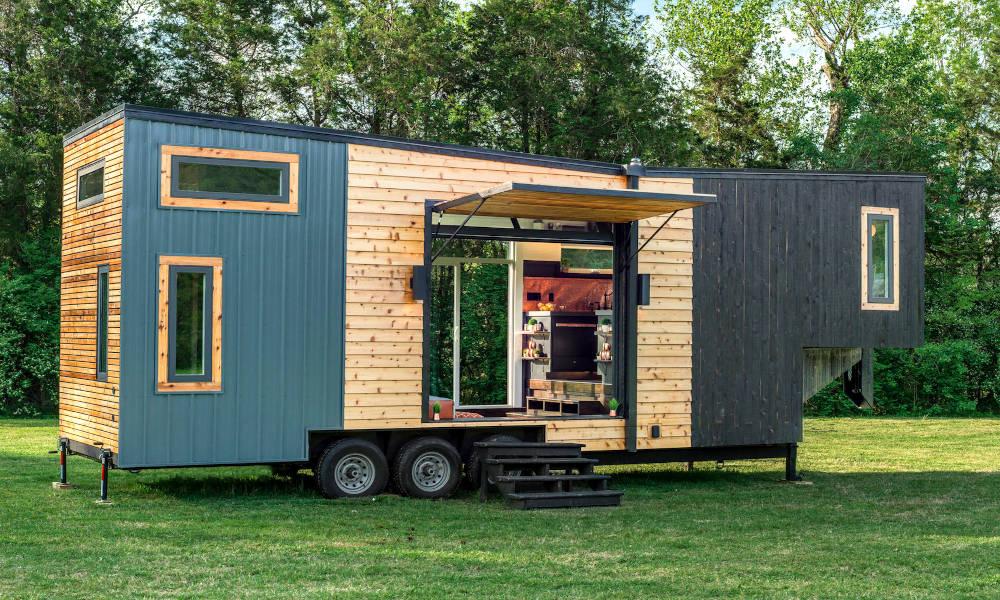 Finie la solitude, invitez jusqu'à 12 personnes dans cette mini-maison mobile