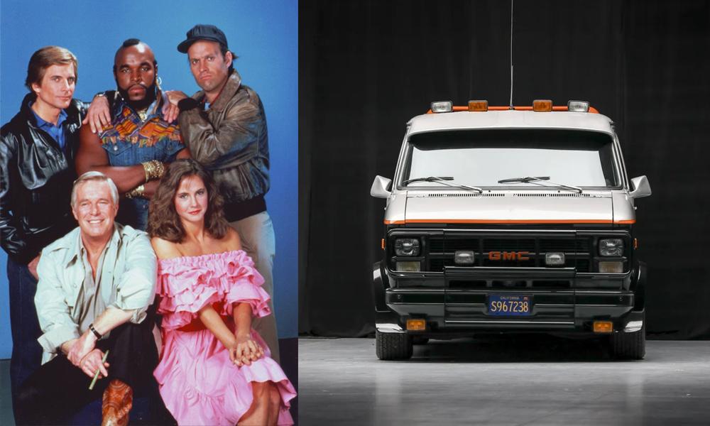 Bon plan sans accroc : le van de L'Agence Tous Risques est à vendre