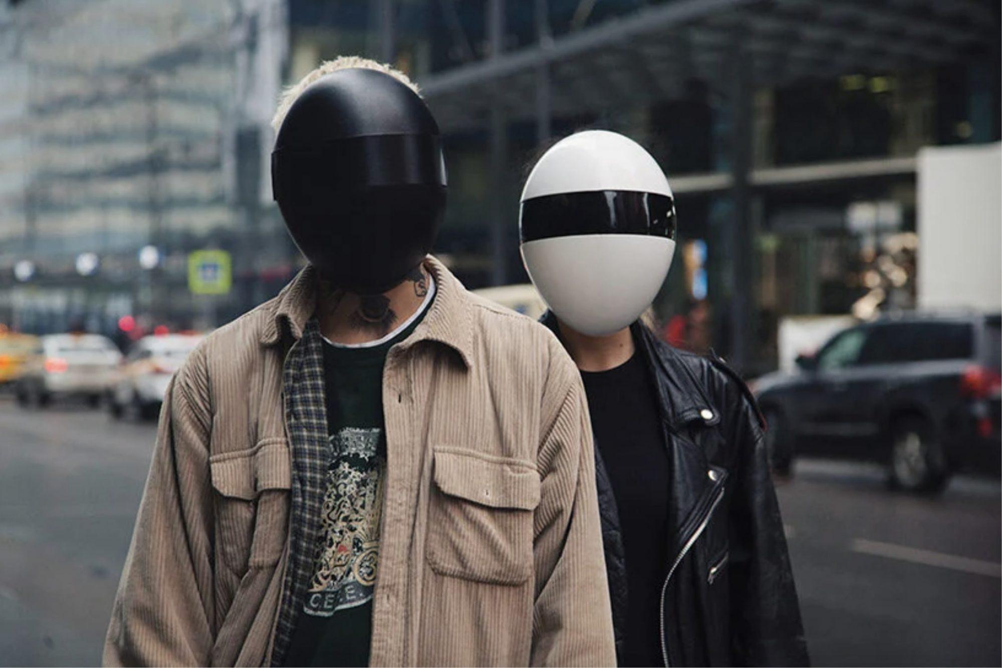 "Avec ce casque anti-Covid, sortez ""all around the world"" comme les Daft Punk"