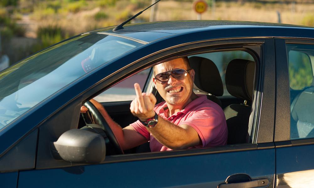 1 Français sur 5 admet ne plus être la même personne quand il est au volant