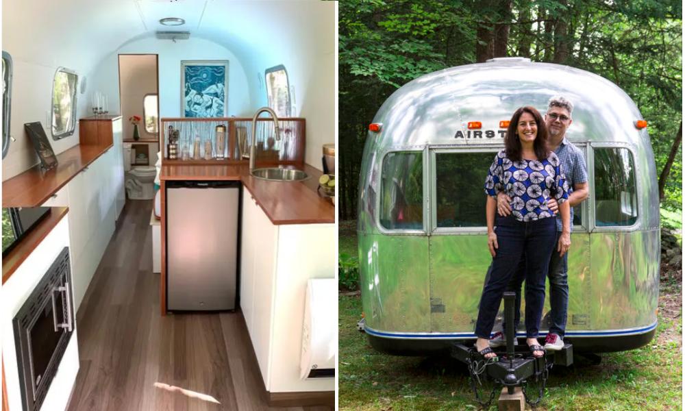 """Ce couple transforme des caravanes des années 1930 en """"tiny house"""""""