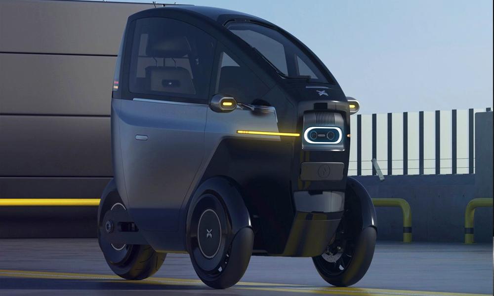 Cette micro-voiture peut résister à tous les embouteillages