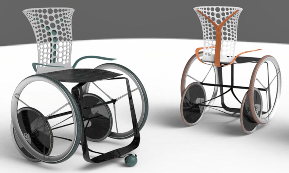 Ce fauteuil roulant réchauffe ceux qui sont assis dessus
