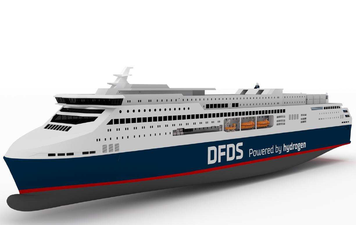 Ecologie : le plus gros ferry à hydrogène prendra la mer dès 2027