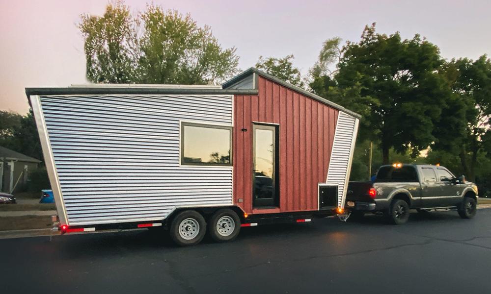 Pour 60 000 €, plaquez tout pour vivre dans cette maison-caravane