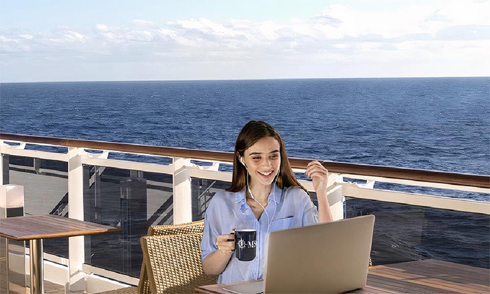 Avec MSC, partez en croisière sur la Méditerranée pour… télétravailler