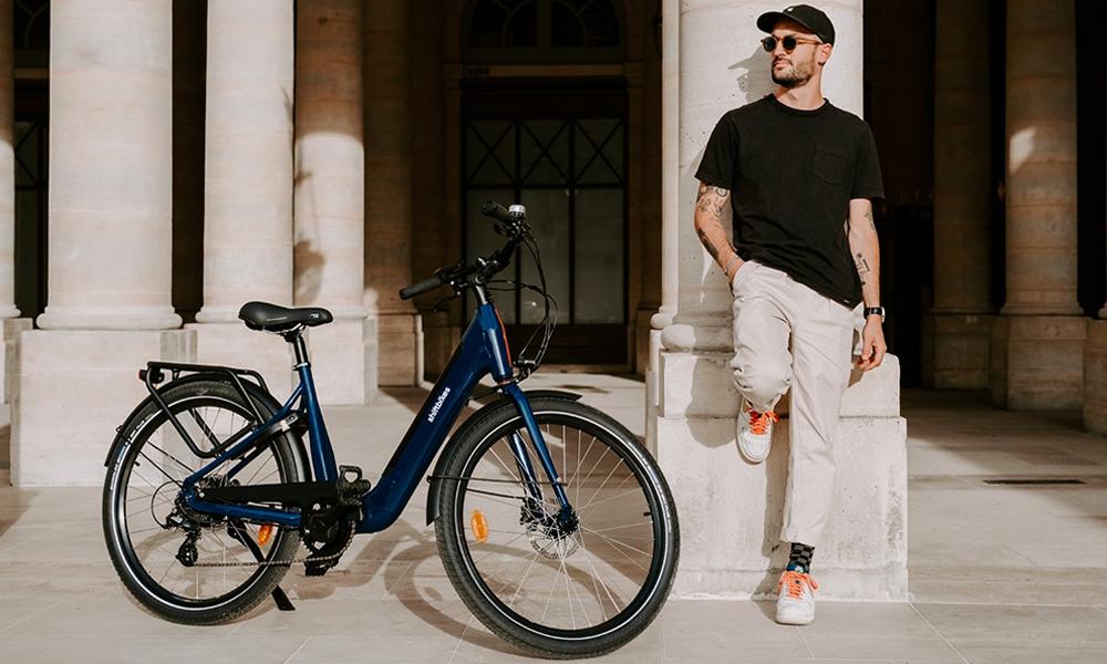 """Shiftbikes : un vélo électrique """"made in France"""" avec batterie amovible"""