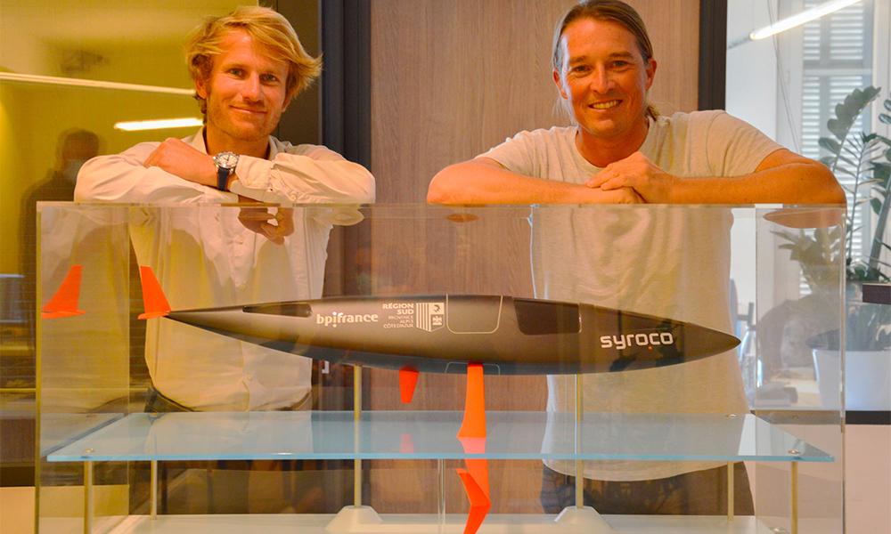 Made in Marseille : un prototype de voilier capable d'atteindre les 150 km/h