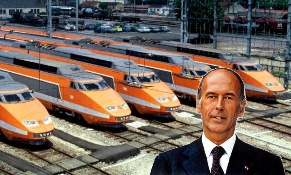 Sans Valéry Giscard d'Estaing, il n'y aurait pas de TGV en France