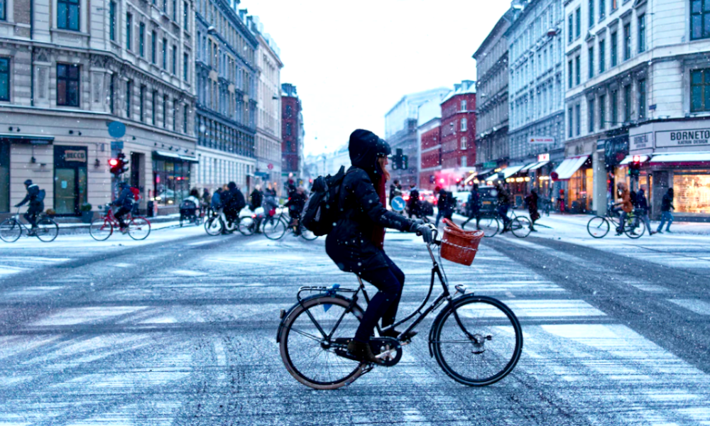 WinterPave : un bitume anti-neige pour rouler à vélo, même en hiver
