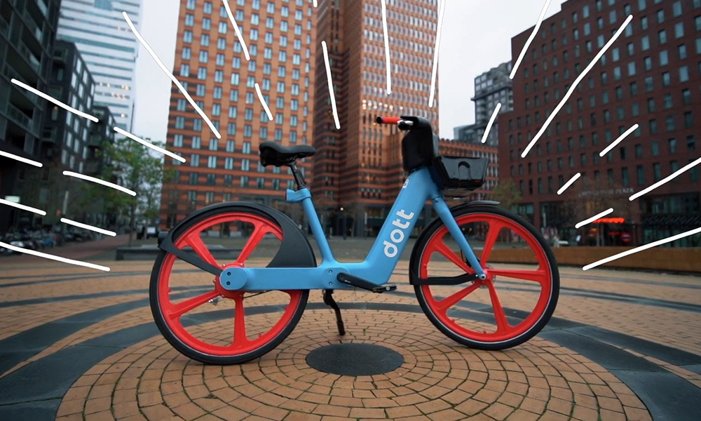 Dott va bientôt lancer 500 vélos électriques en libre-service à Paris