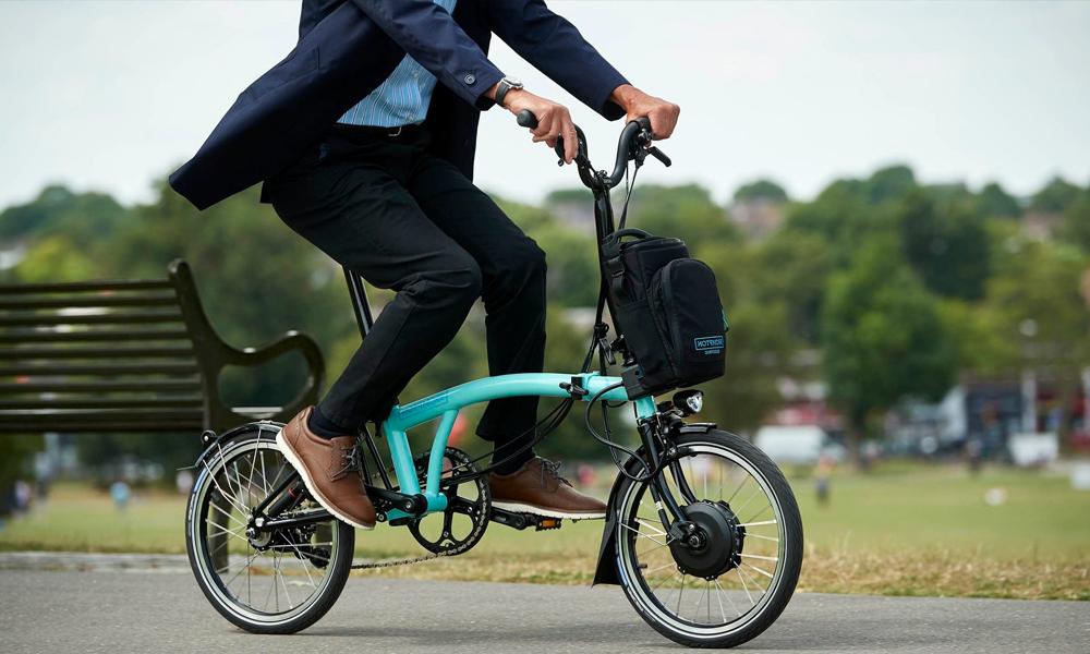 Brompton, le vélo électrique qui se plie (à toutes vos envies)