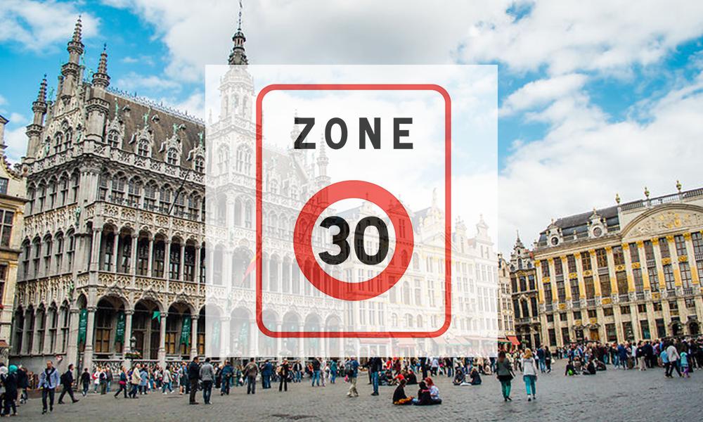 On ralentit : Bruxelles impose le 30 km/h en centre-ville