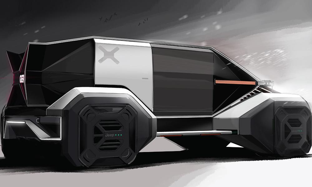 Plus fort qu'Elon Musk, cet étudiant invente la jeep du futur