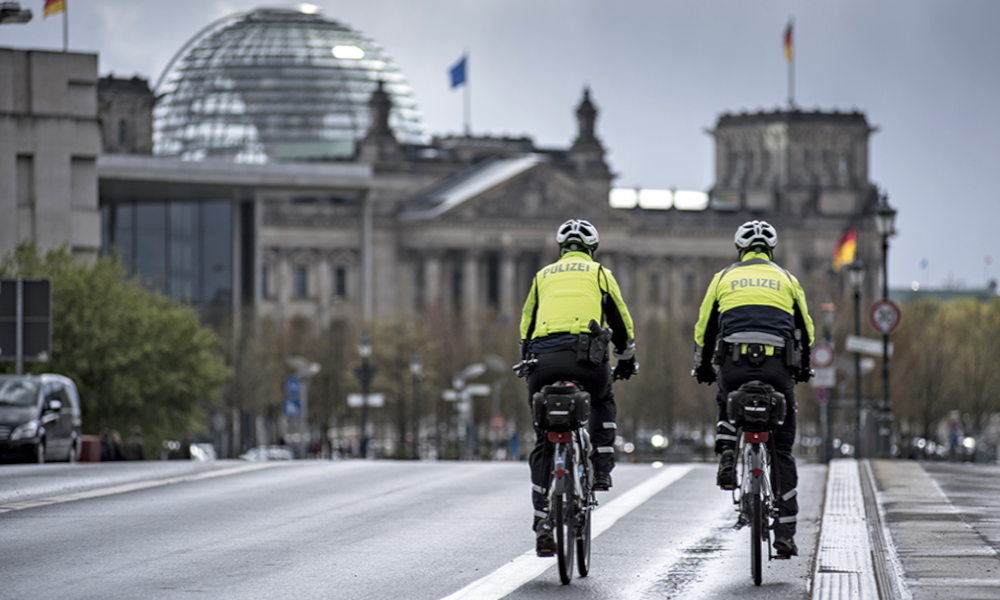 À Berlin, la police part en guerre contre les mauvais cyclistes