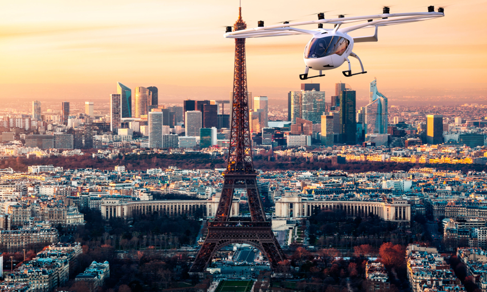 Paris autorise le décollage des premiers taxis volants dès cet été