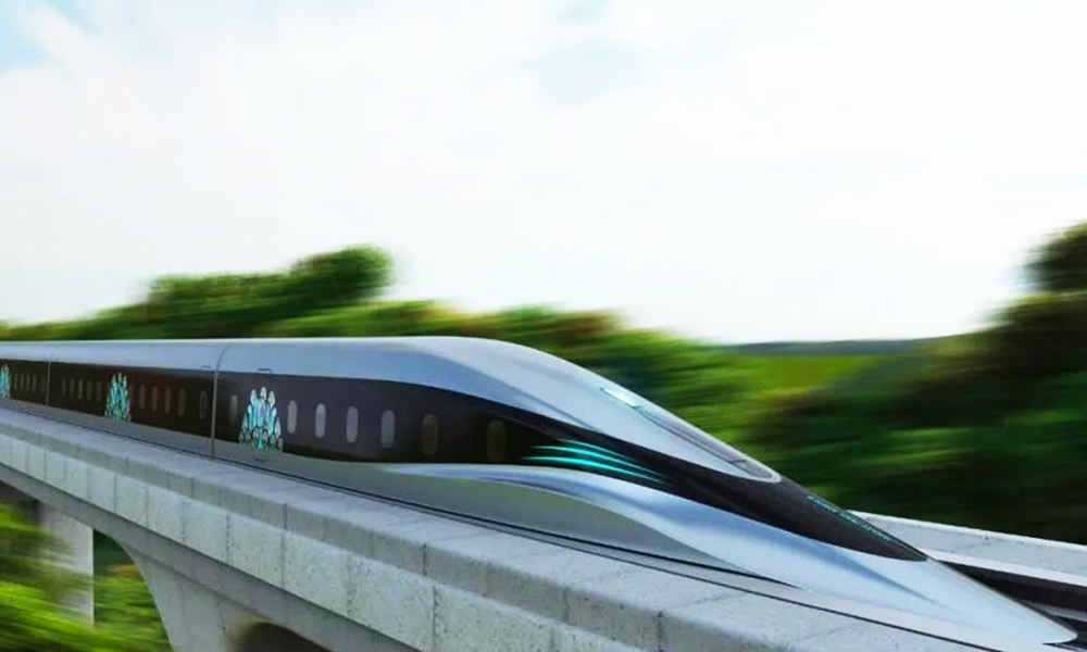 800 km/h : ce TGV chinois ira bientôt aussi vite qu'un avion de ligne