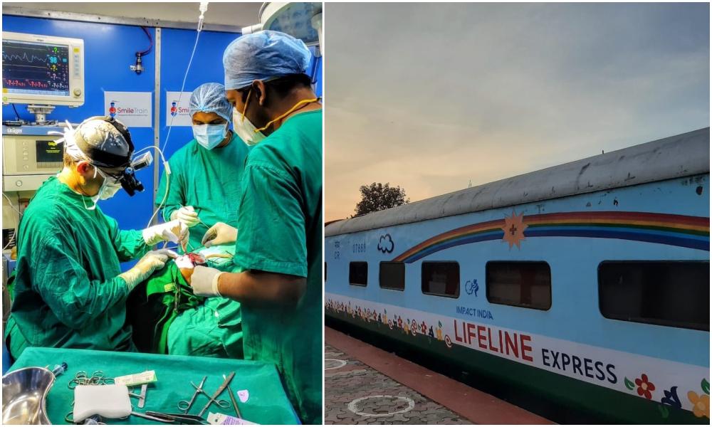 Ce train-hôpital parcourt l'Inde pour soigner gratuitement les plus démunis