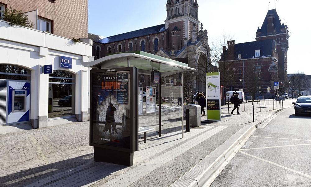 À Lille, cet abribus dépollue l'air que vous respirez