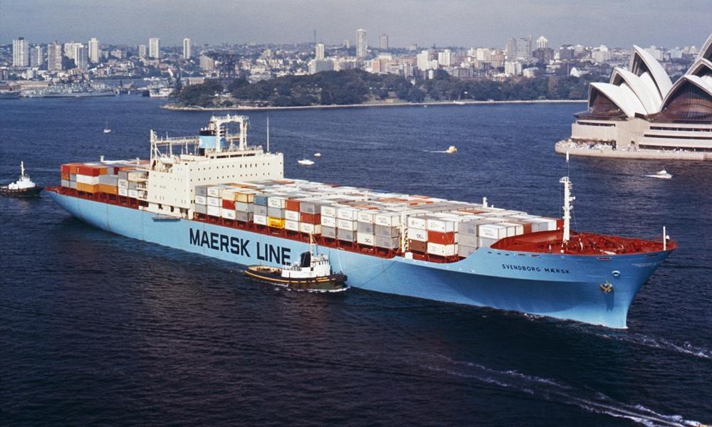 Les Danois de Maersk inventent le super-cargo qui ne pollue pas