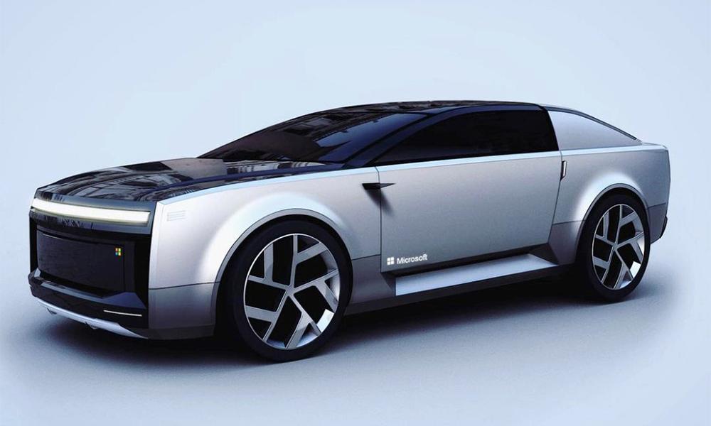 Voici à quoi ressemblerait une voiture Microsoft, selon un designer
