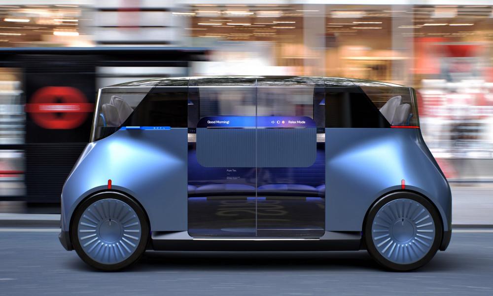 Ces robot-taxis pour riches pourraient bientôt envahir Londres