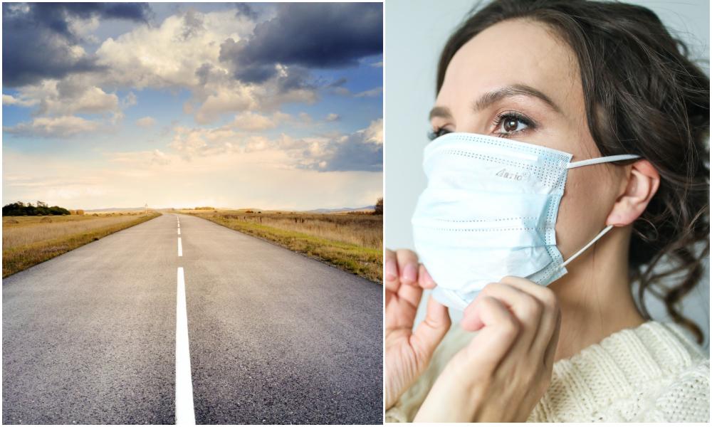 Les masques à usage unique pourraient bientôt être recyclés en… route
