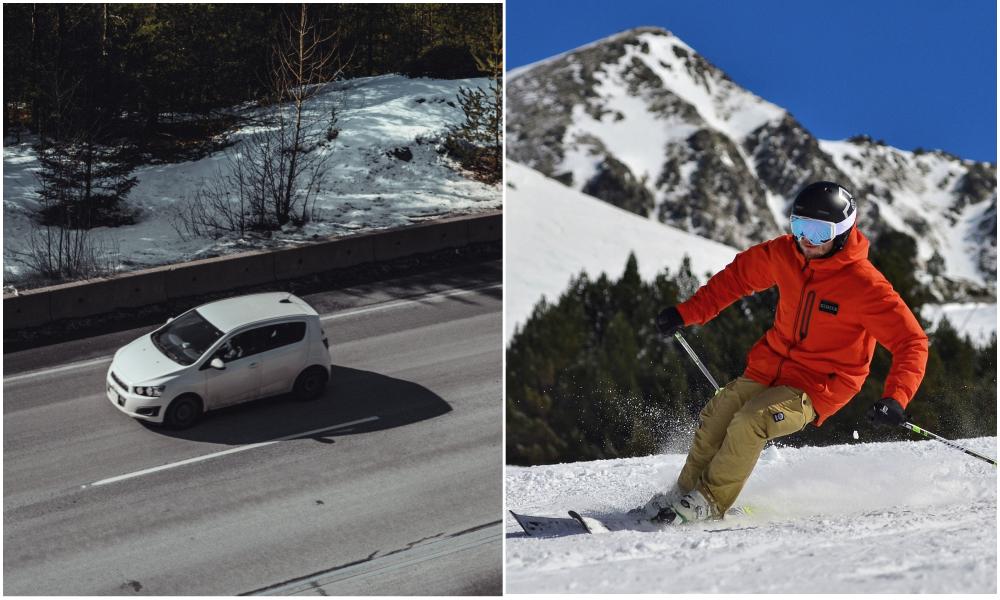 Privé de remontée mécanique ? Courchevel ouvre une piste de ski accessible en voiture