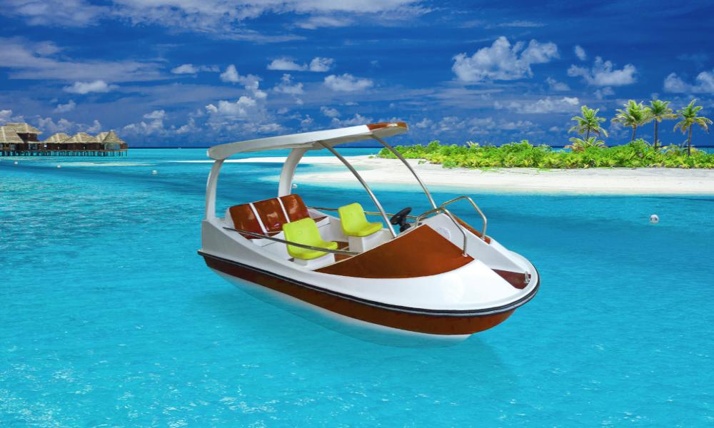850 € : voici le bateau électrique le moins cher du monde