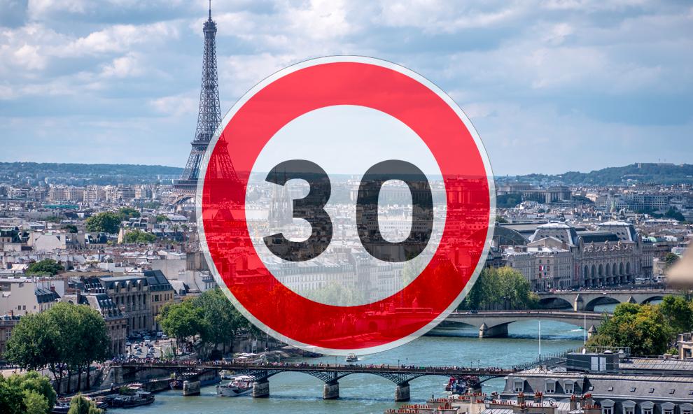 Tout le monde freine : Paris passera au 30 km/h d'ici à la fin de l'année