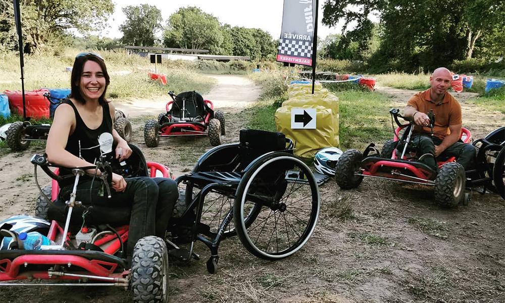 Voici le premier quad électrique accessible aux personnes à mobilité réduite