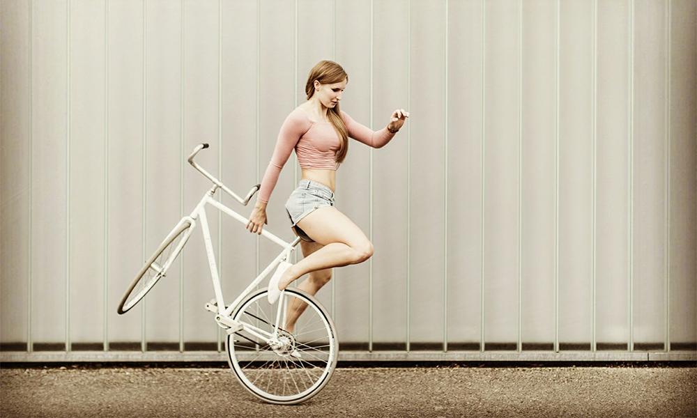 Rencontre avec Viola, championne de… cyclisme artistique !