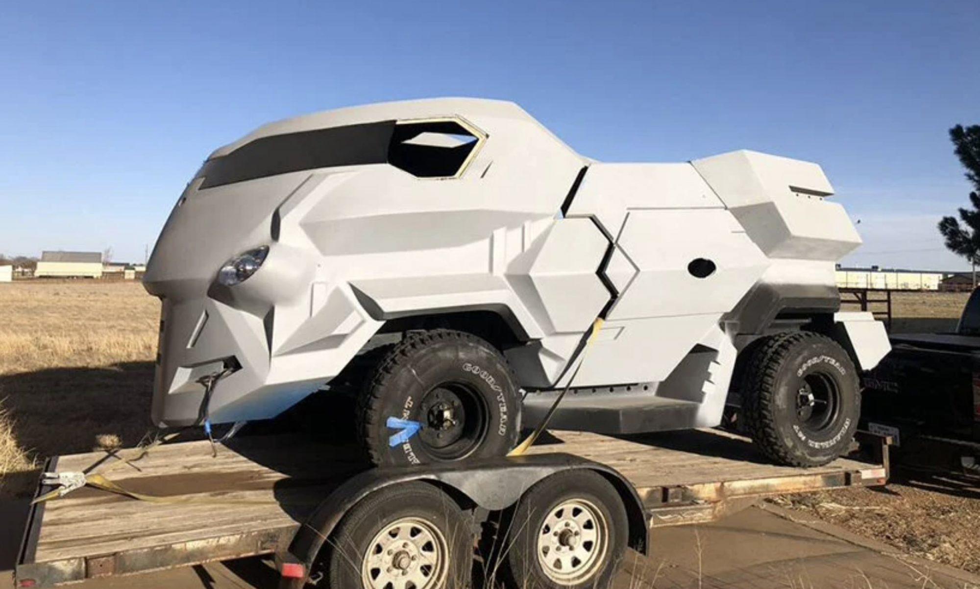 Ce tank du futur coûte moins cher qu'une voiture traditionnelle