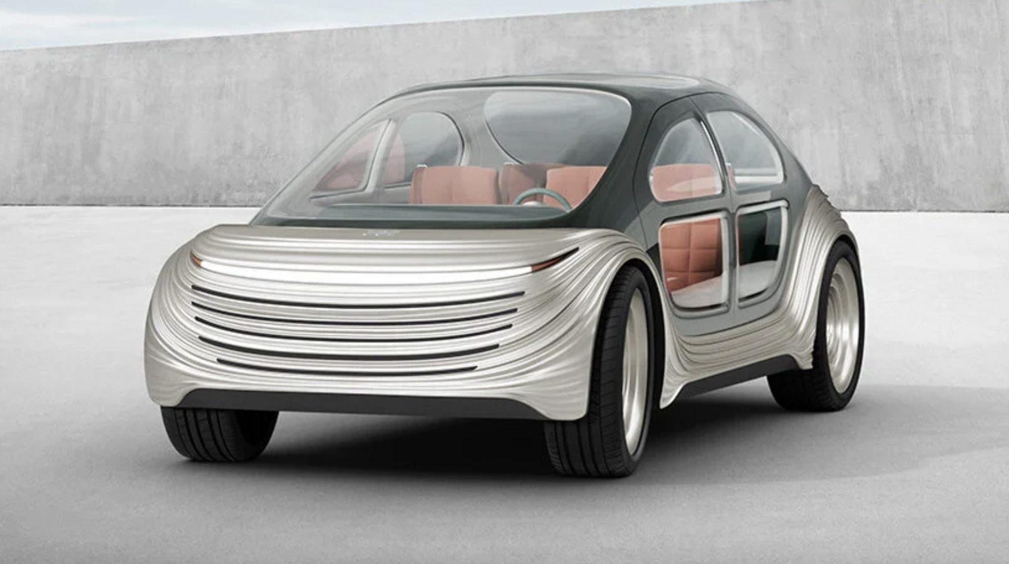 """Cette voiture électrique """"mange"""" le Co2 et purifie l'atmosphère"""