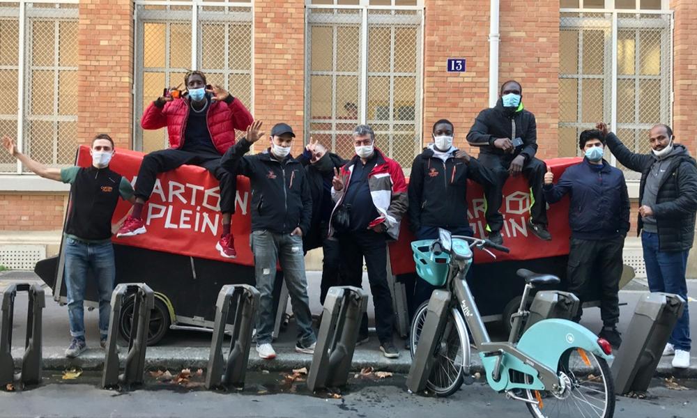 Carton Plein : une solution écolo pour déménager grâce à des… cyclistes