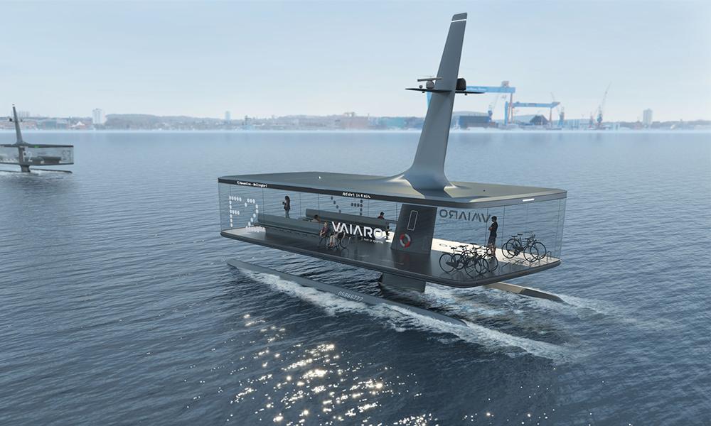 Ce ferry électrique veut devenir le transport en commun de demain