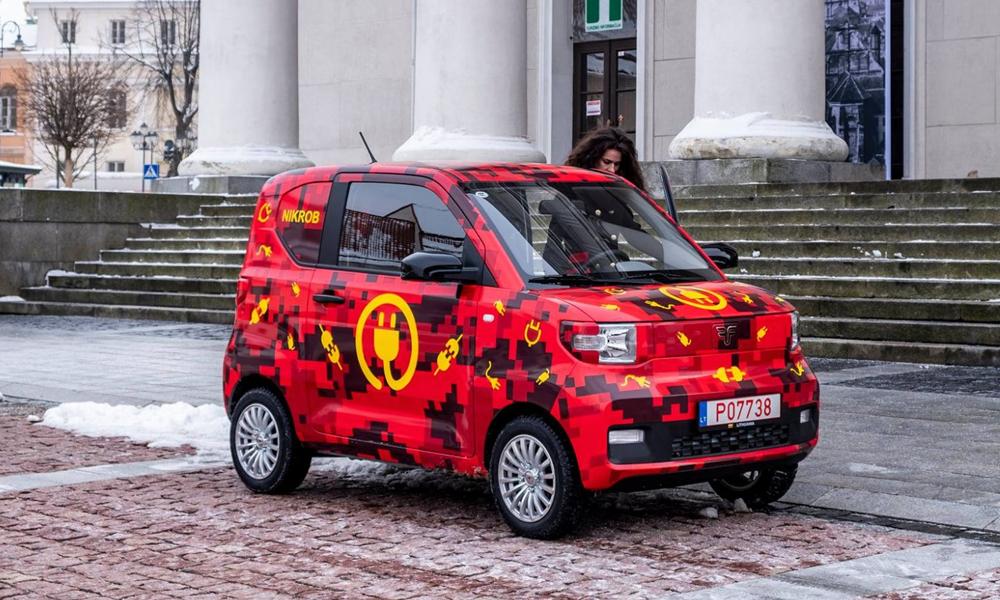 Un nom nul et un design pourri : voici la voiture électrique la moins chère d'Europe