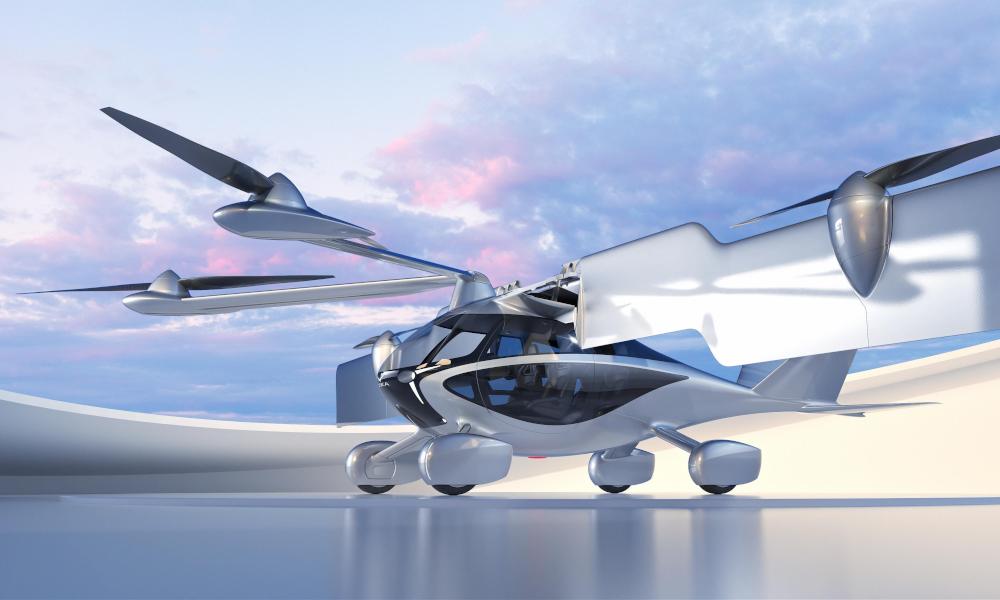 Pour 4000 €, réservez cette voiture volante et envolez-vous en 2026